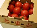 箱買いしたトマト