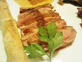 バルバリー産鴨肉のロースト