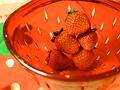 生いちご&イチゴの形のコランダー